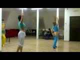 Восточные танцы начинающие учим...