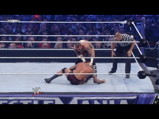 WWE-Randy Orton vs. CM Punk WrestleMania 27