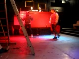 Jey Jey + Treaxy (EBoi) Backstage in Pistoia- Primadonna Disco 8 April 2009 Teo Moss.flv