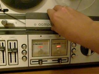магнитофон бобинный reel tape recorder астра мк-110с-1