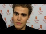 VAMPIRE DIARIES Paul Wesley at the Trevor Projects Trevor Live event
