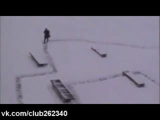 Как можно подшучивать зимой над пешеходами