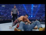 WWE Shawn Michaels The Great Khali Mysterio vs JBL MVP the Miz John Morrison Kane Survivor Series 23.11.2008