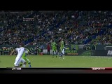 LA Galaxy 2-0 Seattle Sounders MLS Playoff David Beckham