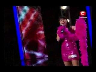 X-factor Ukraine 2010 - Oksana Shavkun - New York(Frank Sinatra - Liza Minelli)