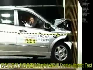 Crash Test SsangYong Kyron NCAP