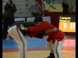 © полуфинал Муса Галлямов и Марсель Гузаиров. Чемпионат России 2010. 75 кг.