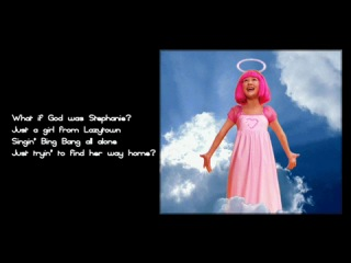 What if God was Stephanie?