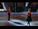 Мария Кожевникова и Алексей Ягудин в шоу Лёд и пламень. Танец на паркете. Латино