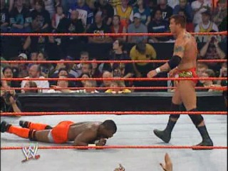 [WI]Randy Orton vs. Shelton Benjamin (Bad Blood 2004) Intercontinental Title Match
