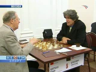 (8 ноября 2007) Вести-Спорт. Шахматы: Сборная СССР вышла вперед