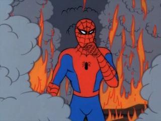 Человек Паук | Spiderman (1967) 1 сезон 5 серия Часть 1  Никогда не наступай на Скорпиона