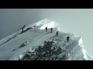 Everest summit day on the South Col route (21st May 2008)