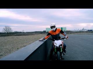 Танец с мотоциклом (KTM 125 Duke PP)