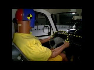 Changan Tiger Mini-Truck Vs. 2010 Ford Ranger IIHS Frontal Impact