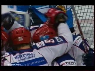 Евротур.Кубок первого канала 2010.Матч№3 Россия 6:2 Финляндия