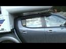 Tischer 215 L Mitsubishi L200 na szosie TransAlpina