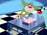 «Убегающие суши» - отрывок из 3-его сезона Огги и тараканы