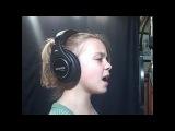 9-ти летняя девочка перепела Кристину Агилеру с ее песней Hurt