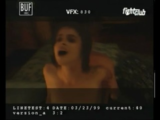 Fight Club - Behind The Scene. Sex Scene