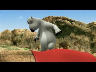 Медведь Бернард - крутой парапланерист!