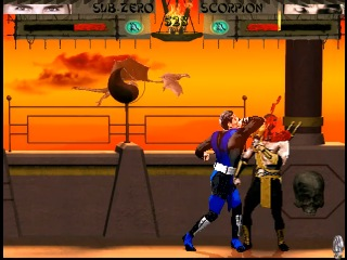 Mortal Kombat Shinobi - Sub-Zero vs Scorpion