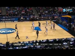 NCAA March Madness. 17.03.2011. Wofford Terriers - Brigham Young Cougars