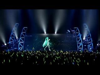Выступление 3D галограммы на сцене Японии.