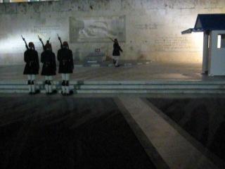 Почетный караул у парламента Греции хД