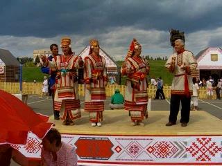 Мордовия.Фестиваль финоугорских народов 2008