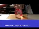Удивительный трюк со стаканом воды!