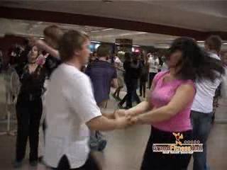 репортаж с открытого урока по хастлу в Grand Fitness Hall