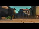 Дублированный тизер мультфильма «Кот в сапогах»