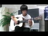 Музыка ангелов (В.А.Моцарт) на гитаре  песня сумерок