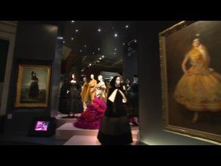 Презентация коллекции Dior в музее изобразительных искусств им. А. С. Пушкина в г. Москве.