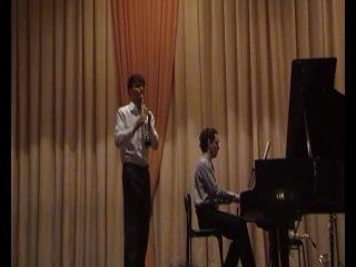 Концер класса кларнета КГК им.Н.Г.Жишанова 18.04.2011г.