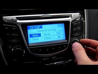 Магнитола в Hyundai Solaris