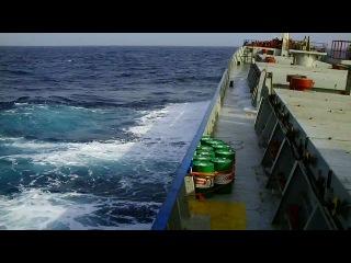 Перший рейс Маленький шторм судно AG Ekaterini