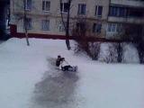 аахахахаах мы с Оксаной с горочки съехали)))))))