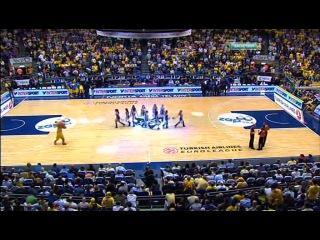 Maccabi Electra (Израиль) vs Caja Laboral (Испания) Nokia Arena, Тель-Авив, Израиль