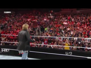 Последнее промо Edge как рестлера. WWE Monday Night Raw 11.04.2011(Русская версия от 545TV)