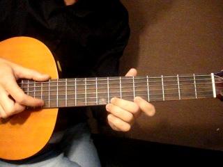 Как играть на гитаре мелодию В траве сидел кузнечик.
