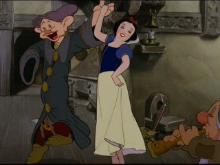 Snow White and the Seven Dwarfs dance and songs (1937)