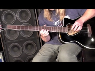 Scott Reeder * Space Cadet bass lesson / Metallica try out