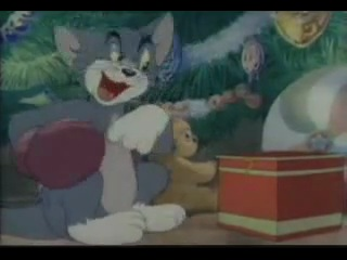 Новогодняя серия Том и Джерри