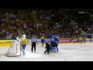 IIHF WC 2011 Final: Finland - Sweden 6-1! Antero Mertaranta