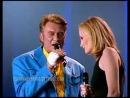 Johnny Hallyday and Patricia Kass