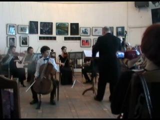 Иван Поликарпов. Vivaldi Cello Concerto a-moll (I, II)