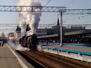 Стимпанк на Ярославском вокзале
