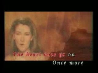 Celine Dion - My Heart Will Go On (Album - MTV Celine Dion - 2000), (Soundtrack - ''Titanic''), (Караоке)